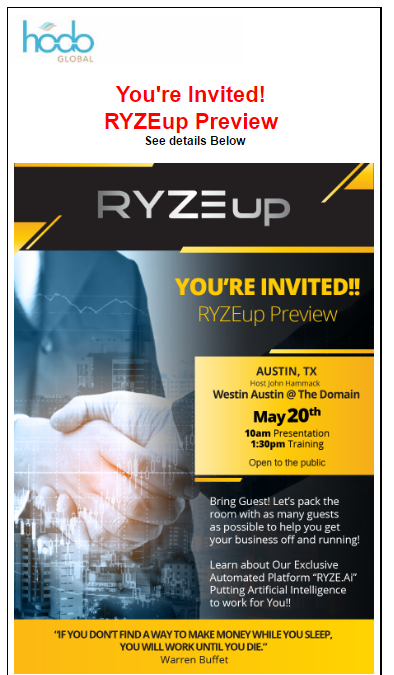 RYZE.Ai Event in Austin Texas