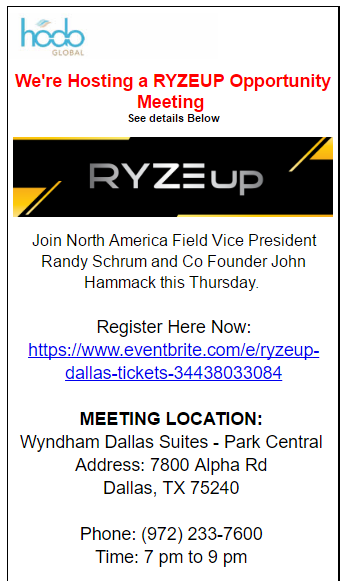RYZE.Ai Seminar in Dallas
