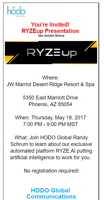 RYZE.Ai Seminar in Phoenix, Arizona