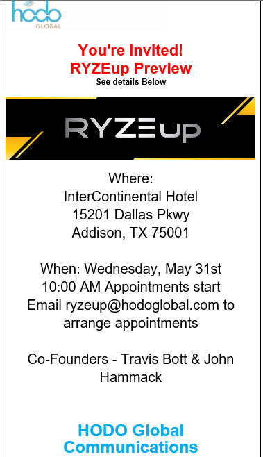 Free RYZE.Ai Seminar in Dallas, Texas
