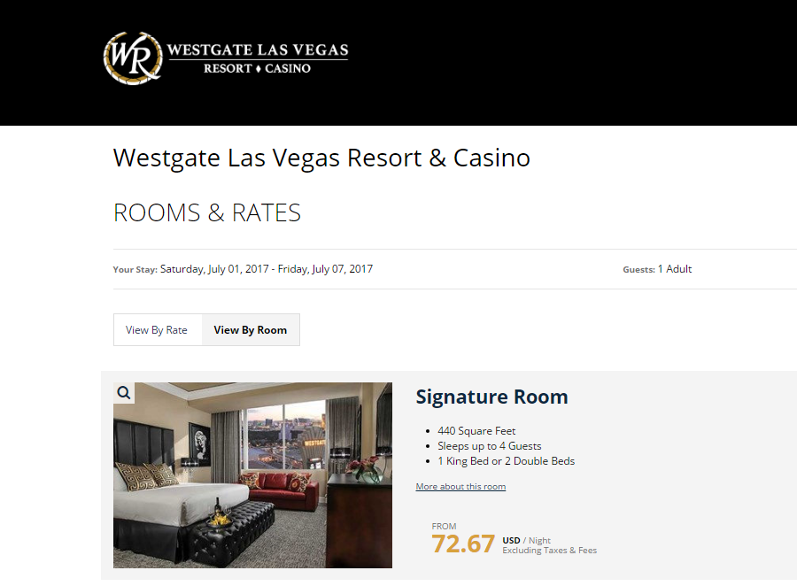 Westgate Westgate Hotel Website Comparison