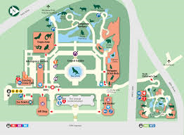 Central Park Zoo Map