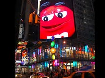 M&M Store in Times Square