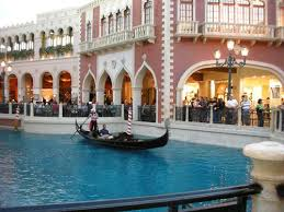 Gondola Ride at the Venetian Hotel and Casino