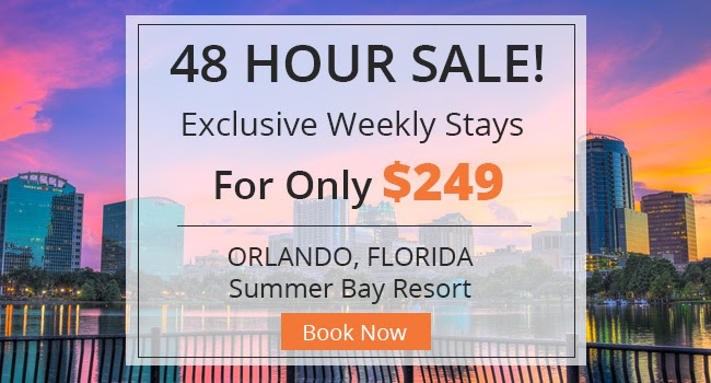 Orlando 48 Hour Resort Sale
