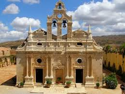 Arkadi Monestary in Crete, Greece