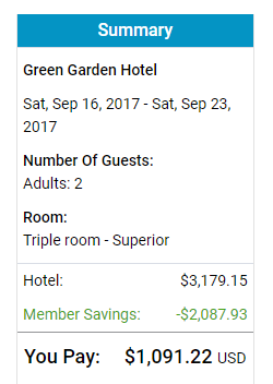 Green Garden Hotel Prague September 2017 TripSpin