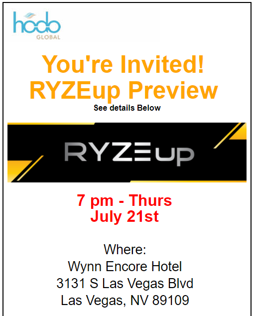 Free RYZE.Ai Seminar in Las Vegas, Nevada on Thursday July 21st