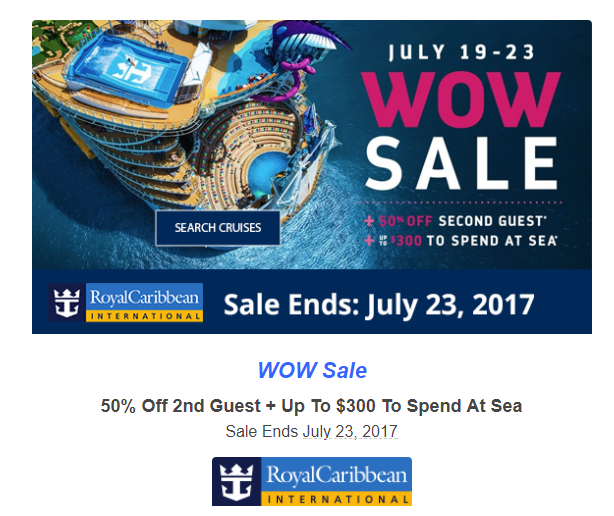 Royal Caribbean Cruise Special