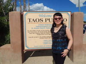 Xin at Taos Pueblo - Taos, New Mexico