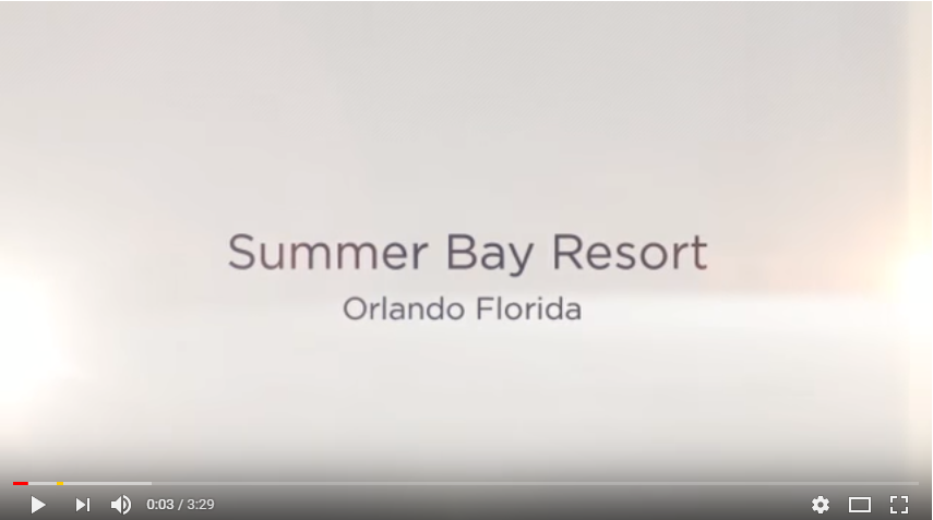 Orlando Summer Bay Resort Video