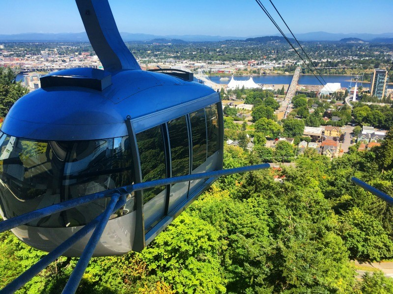 Portland-Aerial-Tram-South-Waterfront-District